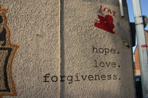 Hope. Love. Forgiveness.